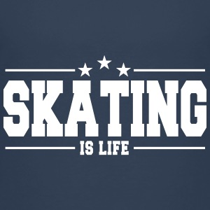 skating is life 1 T-shirts - Premium-T-shirt barn