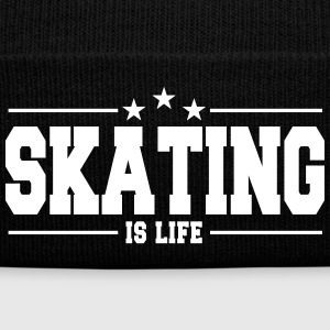 skating is life 1 Caps & Mützen - Wintermütze