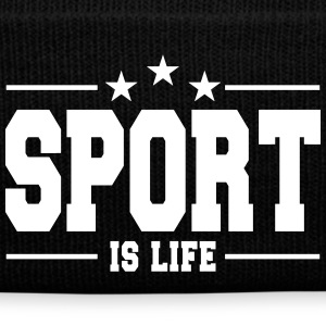 sport is life 1 Caps & Hats - Winter Hat