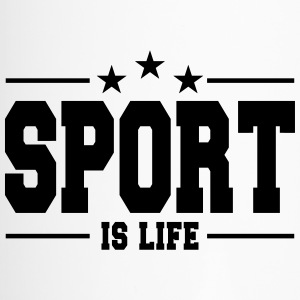 sport is life 1 Tazze & Accessori - Tazza termica