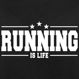 running is life 1 T-shirts - Dame oversize T-shirt