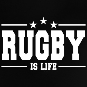 rugby is life 1 Baby Shirts  - Baby T-Shirt