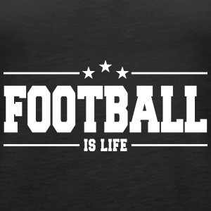 football is life 1 Topy - Tank top damski Premium