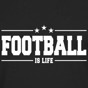 football is life 1 Skjorter med lange armer - Premium langermet T-skjorte for menn