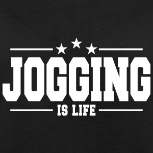jogging is life 1 T-Shirts - Frauen Oversize T-Shirt