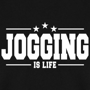 jogging is life 1 Sweat-shirts - Sweat-shirt Homme