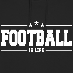 football is life 1 Tröjor - Luvtröja unisex