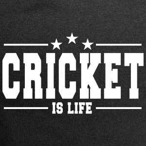 cricket is life 1 Caps & Hats - Jersey Beanie