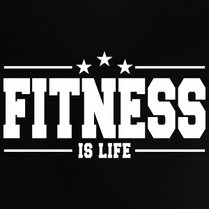 fitness is life 1 Babytröjor - Baby-T-shirt