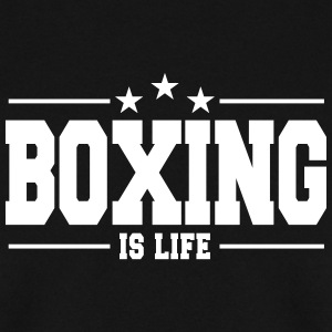 boxing is life 1 Hoodies & Sweatshirts - Men's Sweatshirt