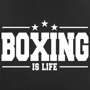 boxing is life 1 T-shirts - mannen T-shirt ademend