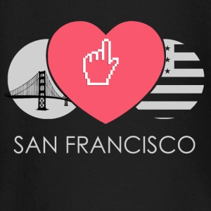 IN LOVE WITH SAN FRANCISCO Baby Langarmshirts - Baby Langarmshirt
