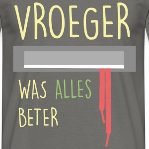 Jan Terlouw Brievenbus - Mannen T-shirt