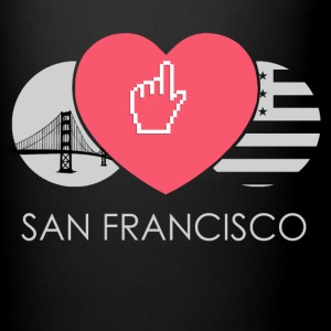 IN LOVE WITH SAN FRANCISCO - Tasse einfarbig