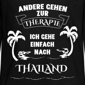 Thailand - holiday - therapy Long Sleeve Shirts - Teenagers' Premium Longsleeve Shirt