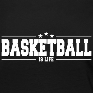 basketball is life 1 Long Sleeve Shirts - Women's Premium Longsleeve Shirt