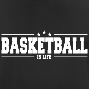 basketball is life 1 Camisetas - Camiseta hombre transpirable