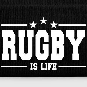 rugby is life 1 Caps & luer - Vinterlue