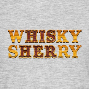 Whisky vs. Sherry T-Shirts - Männer T-Shirt