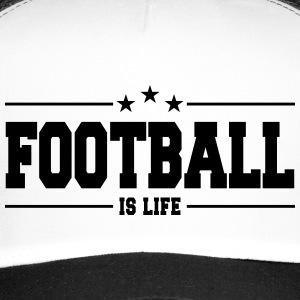 football is life 1 Caps & luer - Trucker Cap