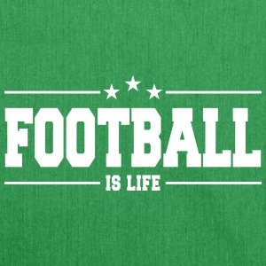 football is life 1 Borse & Zaini - Borsa in materiale riciclato