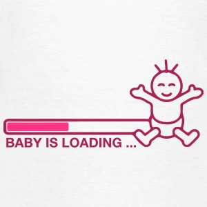 Baby is loading! - Frauen T-Shirt