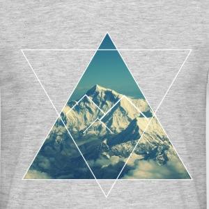 Mountain from the sky - T-shirt Homme