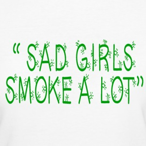 Sad Girls T-Shirts - Frauen Bio-T-Shirt