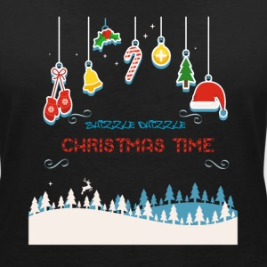 Christmas T-Shirts - Women's V-Neck T-Shirt