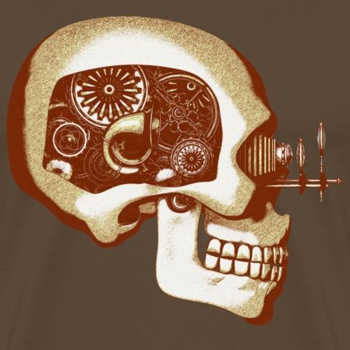 08 Steampunk Automaton / Robot Skull #6