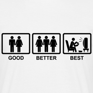 Good - Better - Best Gaming Shirt - Männer T-Shirt