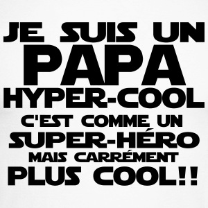 un papa hyper cool Manches longues - T-shirt baseball manches longues Homme