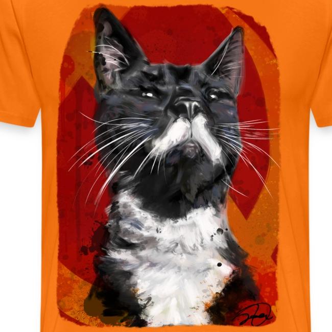 Stalin the Cat USSR Men's Tee