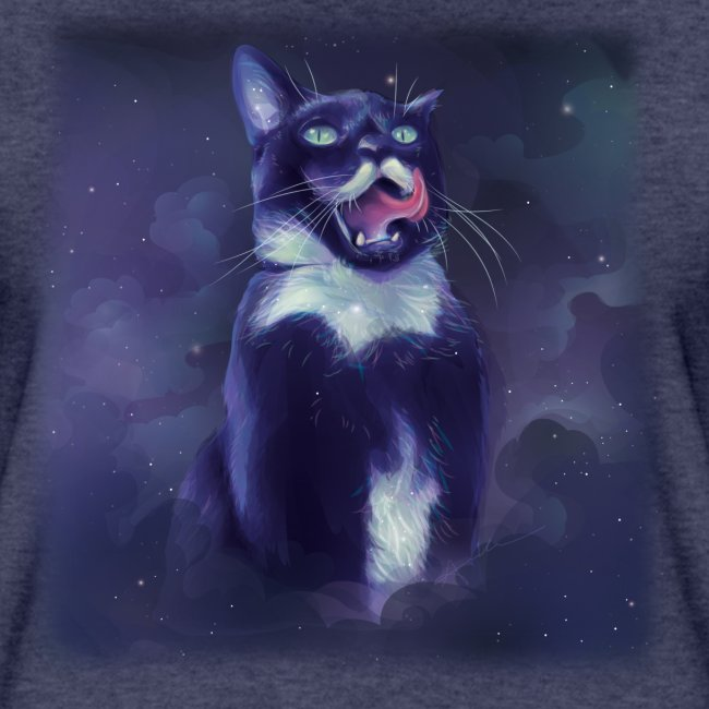 Stalin the Cat Galaxy Women's Tee