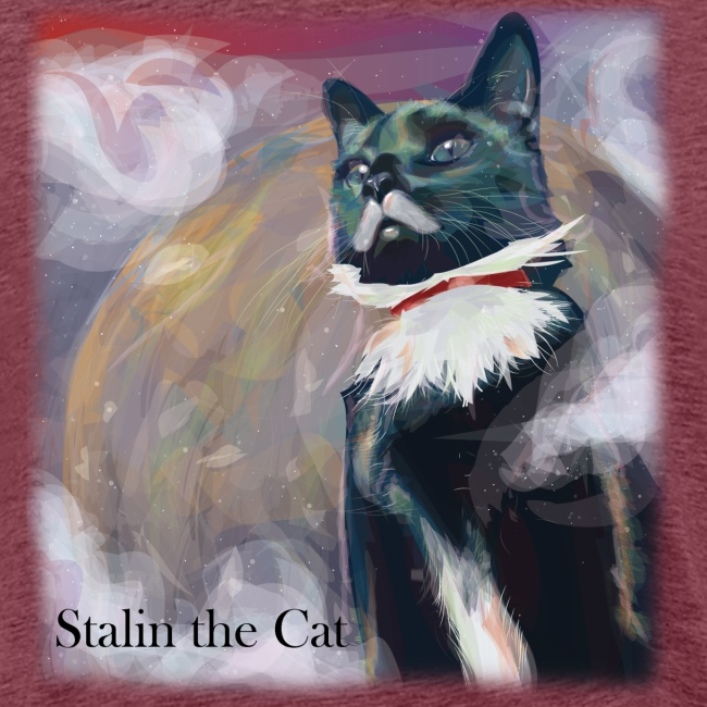 Stalin the Cat Men'sTee