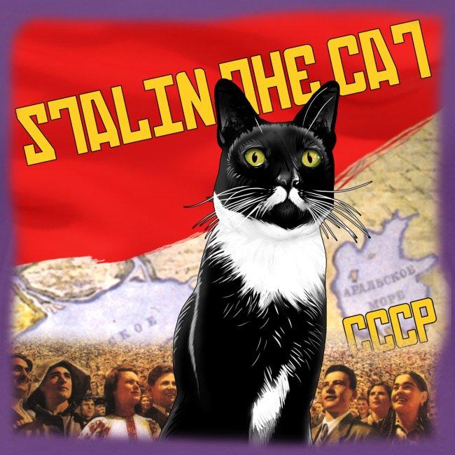 Stalin the Cat Propaganda Women's Tee