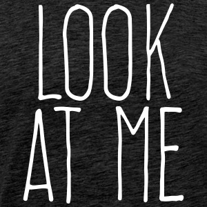 look at me T-shirts - Herre premium T-shirt
