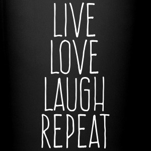 live love laugh repeat Mugs & Drinkware - Full Colour Mug