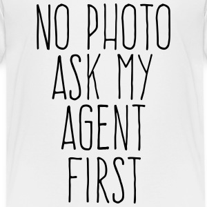 no photo ask my agent Skjorter - Premium T-skjorte for barn