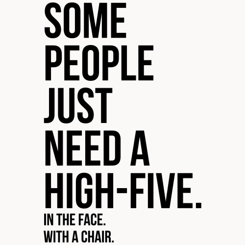 some people need highfive face chair