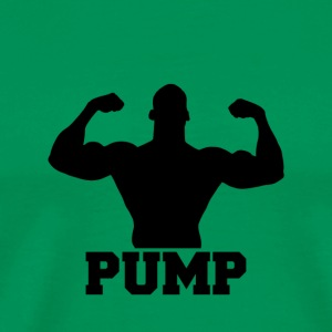 Pump up the weights - Men's Premium T-Shirt