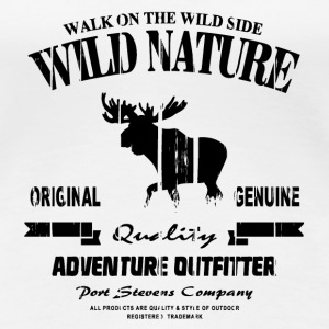 Wild Nature - Moose - Elch T-Shirts - Frauen Premium T-Shirt