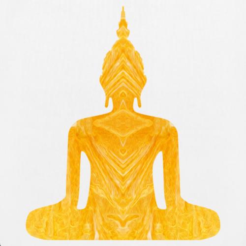 Buddha Kaleidoskop gelb