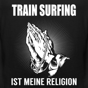 Train surfing - meine Religion Sportkleding - Mannen Premium tank top