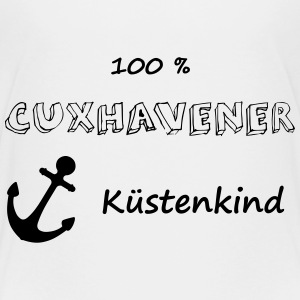 Teenager Premium T-Shirt - 100 % Cuxhavener Küste - Teenager Premium T-Shirt
