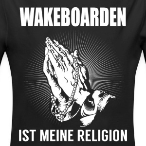 Wakeboarding - my religion Baby Bodysuits - Longlseeve Baby Bodysuit