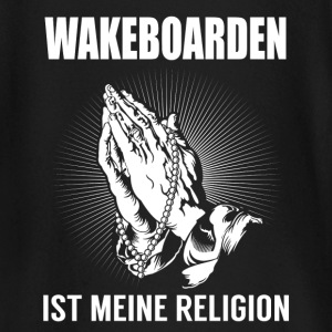 Wakeboard - ma religion Tee shirts manches longues Bébés - T-shirt manches longues Bébé
