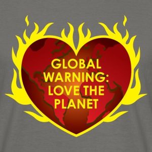GLOBAL WARNING T-shirts - Mannen T-shirt