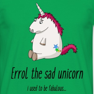 Sad unicorn T-Shirts - Men's T-Shirt
