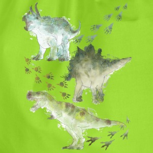 Animal Planet Various Dinosaurs Watercolour - Drawstring Bag